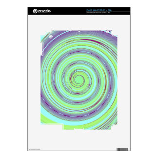 Re-Created Spin Painting Decals For iPad 2