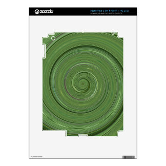 Re-Created Spin Painting Decals For iPad 3