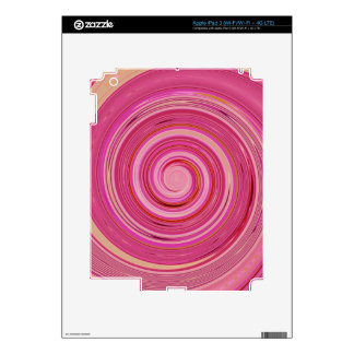 Re-Created Spin Painting Skin For iPad 3