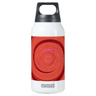 Re-Created Spin Painting Thermos Water Bottle