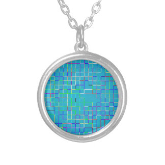Re-Created Squares Personalized Necklace