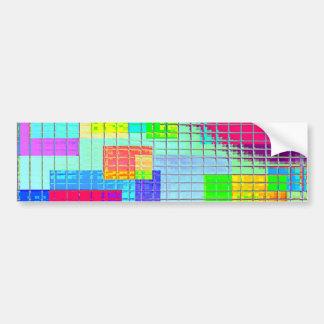 Re-Created Swatches Bumper Sticker