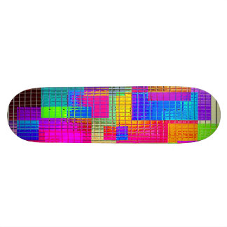 Re-Created Swatches Skateboard Deck