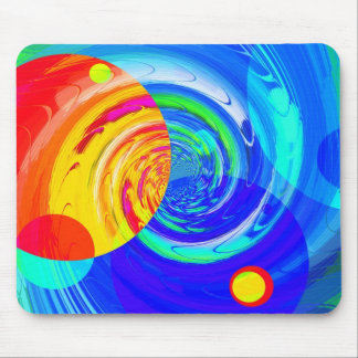 Re-Created Twisters Mouse Pad