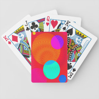 Re-Created Twisters Bicycle Poker Cards
