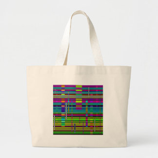 Re-Created Urban Landscape Canvas Bags