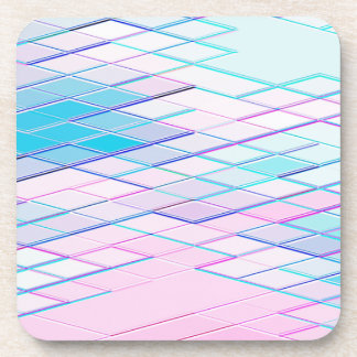 Re-Created Vertices No. 00 by Robert S. Lee Coaster