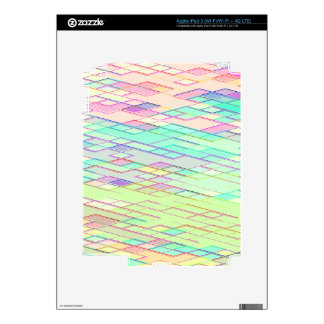 Re-Created Vertices No. 0 by Robert S. Lee iPad 3 Skin