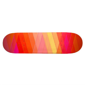 Re-Created Vertices Skateboard