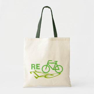Re-Cycle Bike design Canvas Bags