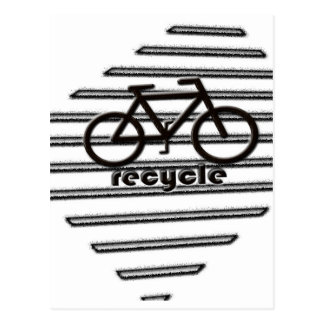 RE-CYCLE POSTCARD