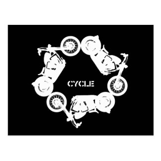 Re - Cycle Postcard