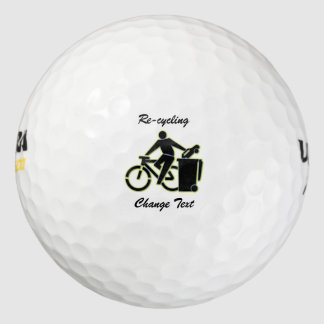 Re-Cycle Your Car Dump It and Get a Bike Golf Balls