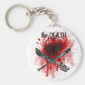 Re-DEATH keychain
