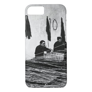 Re-educating wounded. Blind French_War image iPhone 7 Case