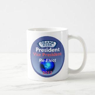 Re-Elect 2012 Obama Mug