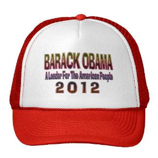 Re-elect Barack Obama 2012 Hat