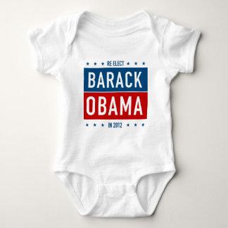 Re-elect Barack Obama in 2012 Baby Bodysuit