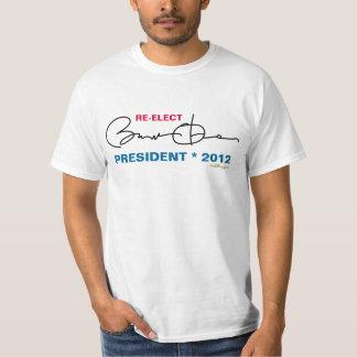 Re-Elect Barack OBAMA President 2012 Basic T-Shirt