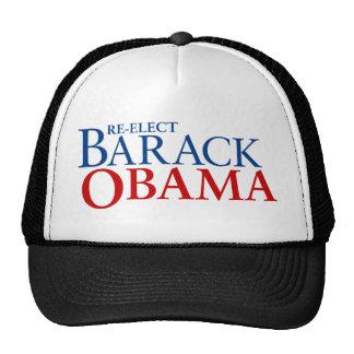 Re-elect Barack Obama Trucker Hat
