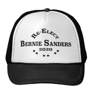 Re-Elect Bernie Sanders 2020 Collegiate Style Trucker Hat