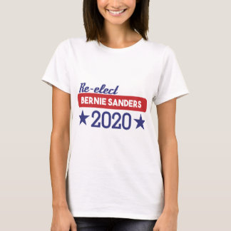 Re-Elect Bernie Sanders 2020 Stars T-Shirt