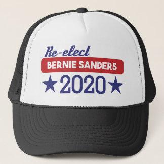Re-Elect Bernie Sanders 2020 Stars Trucker Hat