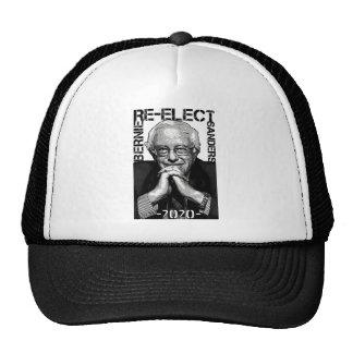 Re-Elect Bernie Sanders 2020 Textured Portrait Trucker Hat