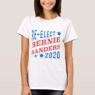 Re-Elect Bernie Sanders 2020 Tri-Color Fonts T-Shirt