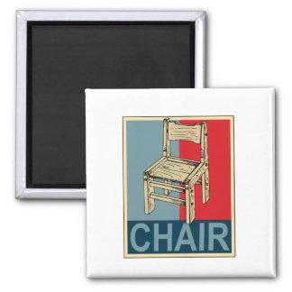 Re-Elect Chair 2012 2 Inch Square Magnet