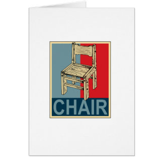 Re-Elect Chair 2012 Card