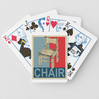 Re-Elect Chair 2012 - Election Edition Bicycle Playing Cards