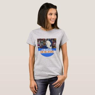 Re-Elect De Blazio T-Shirt