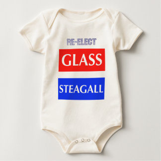 RE-ELECT Glass Steagall Baby Creeper