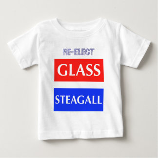 RE-ELECT Glass Steagall Baby T-Shirt