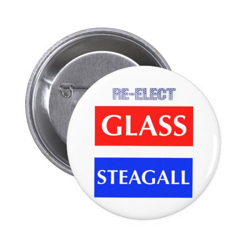 RE-ELECT Glass Steagall Pin