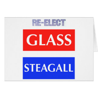 RE-ELECT Glass Steagall Card