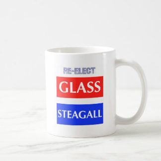 RE-ELECT Glass Steagall Classic White Coffee Mug
