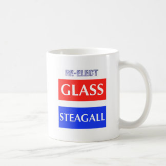RE-ELECT Glass Steagall Coffee Mug