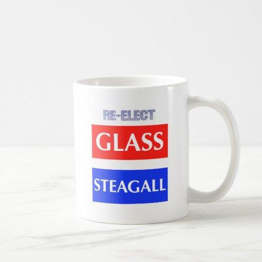 RE-ELECT Glass Steagall Mugs