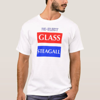 RE-ELECT Glass Steagall T-Shirt