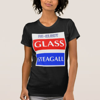 RE-ELECT Glass Steagall T-Shirt