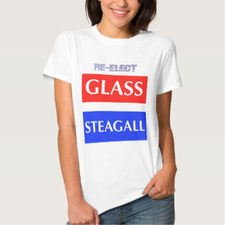 RE-ELECT Glass Steagall T-shirts