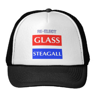 RE-ELECT Glass Steagall Trucker Hat