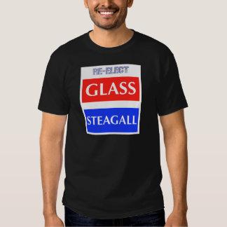 RE-ELECT Glass Steagall Tshirt