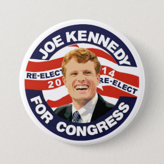 Re-Elect Joe Kennedy 2014 Pinback Button
