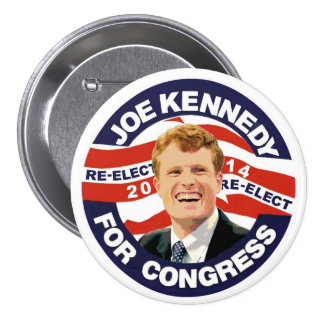 Re-Elect Joe Kennedy 2014 Pinback Button