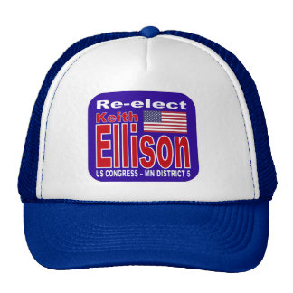 Re-elect Keith Ellison Congress 2012 Minnesot Trucker Hat
