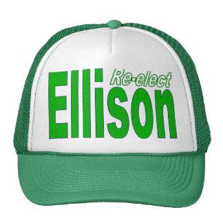 Re-elect Keith Ellison Congress 2012 Minnesota Trucker Hat