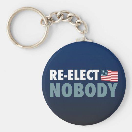 Re-Elect Nobody Keychain